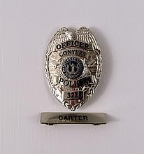 Prisoners Officer Carter (Brad James) Badge Prop
