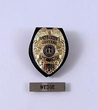 Prisoners Officer Wedge (Anthony Reynolds) Badge