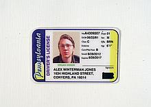 Prisoners Alex Jones (Paul Dano) Drivers License