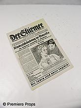 Inglourious Basterds Sgt. Hugo Stiglitz (Til Schweiger) Newspaper