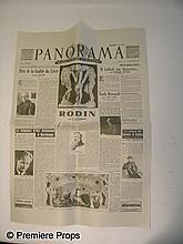 Inglourious Basterds Panorama Newspaper
