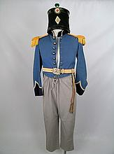 The Alamo (1960) Mexican Army Officers Costume