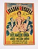 Lillian Russell Signed Lobby Card (Alice Faye/Don Ameche/Henry Fonda)