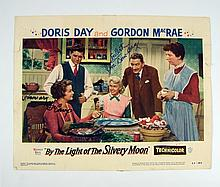 By The Light Of the Slivery Moon Doris Day/Rosemary De Camp Signed Lobby Card