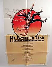 My Favorite Year Peter O'Toole Autographed Poster