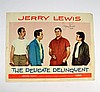 The Delicate Delinquent Jerry Lewis Signed Lobby Card