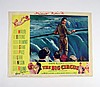 The Big Circus Signed Gilbert Roland/David Nelson Lobby Card