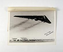 Dave Stevens Estate Signed Flying Wing By Russ Schleeh