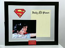 Superman (1978) Lois Lane (Margot Kidder) Photo-Autograph & Daily Planet Prop