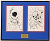 Spiderman/Green Lantern Ethan Sciver Signed Original Artwork