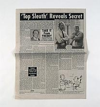 Red Dragon Tattler Newspaper Prop