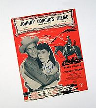 Frank Sinatra/Phyllis Kirk Signed Sheet Music From Johnny Concho