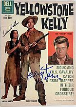 Yellowstone Kelly Clint Walker Signed Comic Book