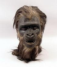 Planet Of The Apes (1968) Gorilla Horse Solider Head