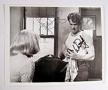 Bonnie and Clyde Warren Beatty/ Faye Dunaway Signed Photo