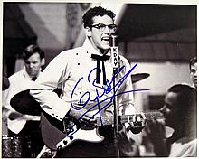 Buddy Holly Story Gary Busey Signed Photo