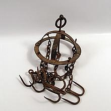 Saw 5 Anchor Chandelier Style Meat Hooks Prop