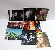 Collection of Marvel Motion Picture Prints Silver Surfer, Ghost Rider, Hulk, Wolverine