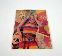 Rare Lenticular Beatles Postcard