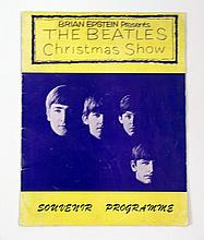 Brian Epstein Beatles Christmas Show Souvenir Program 1963