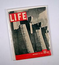 Life Magazine Original Salesman Half-Size First Edition