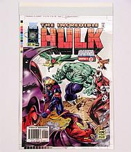 Incredible Hulk #445 4 Color Book Cover Proofs