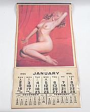 Marilyn Monroe Golden Dreams 1955 Calendar