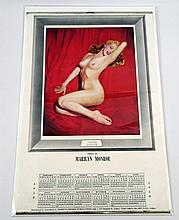 Marilyn Monroe Golden Dreams 1958 Pinup Calendar From Australia