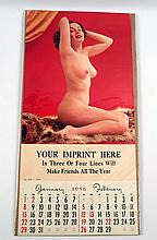 Pinup Calendar 1956 Salesman's Sample Youth & Beauty