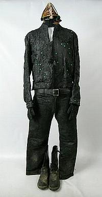 Ghost Rider 2 Johnny Blaze/Ghost Rider (Nicholas Cage) Cowl & Costume