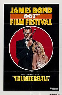 Thunderball Film Festival  U.S One Sheet 27