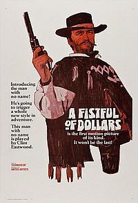 A Fistful of Dollars U.S Advance Teaser 1 Sheet 27