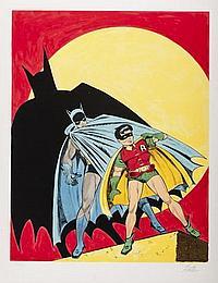 Batman Litho Batman & Robin
