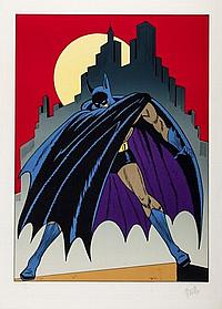 Batman Litho Batman