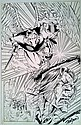 Avengelyne John Stinsman Original Signed Pencil Ink Drawing
