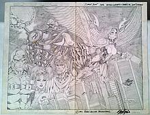 Scarlett Crush John Stinsman Original Signed Cover Art