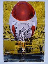 Tony SOULIE 'A380 final assembly line - Nose and landing gear ñ Blagnac - France