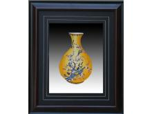 Yu Hu Chun Su embroidery Bird Bottle (Suzhou Embroidery with Flower and Bird Spring Bottle Pattern)