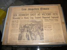 Robert Kennedy 1968 Presidential Campaign Memorabilia