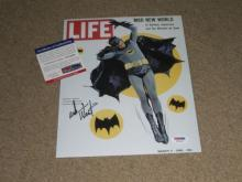 Adam West Signed Cover as Batman 1960s TV Series PSA_DNA Certified