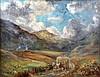 Hay Cart Oil on canvas, signed monogram 1934, 53 x 70cm