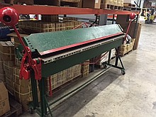 Surplus Sheet Metal Machinery Sale
