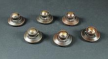 IS238 - Iron Sky - Set of Six Miniature UFO Map Markers