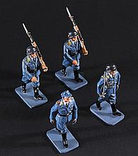 IS272 - Iron Sky - Set of Luftwaffe Miniature Figures