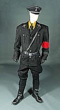 IS005 - Iron Sky - Klaus' (Gotz Otto) Black Uniform Costume