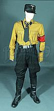 IS053 - Iron Sky - Washington's (Christopher Kirby) Brown German Original Uniform Costume