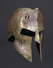 300 (2006) - Stelios' (Michael Fassbender) Helmet