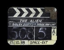 ALIEN (1979) - Insert Shot Clapperboard