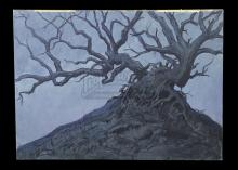 THE STORYTELLER (1987) - Brian Froud Hand-Painted Twisted Tree Production Artwork