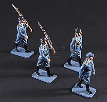 IS273 - Iron Sky - Set of Prop Minature Luftwaffe Soldiers